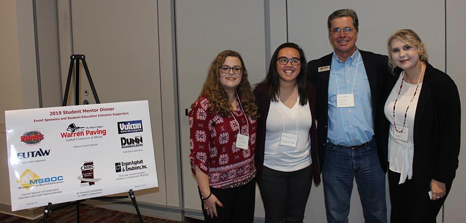 (2019) Student Mentor Dinner Sponsored by Warren Paving, Eutaw Construction, Dunn Roadbuilders, MMC Materials, and Vulcan Materials – Starkville, MS