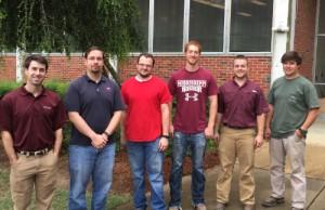 Ben, Jay, Brad, Chase, Braden, Drew (July 22, 2015)