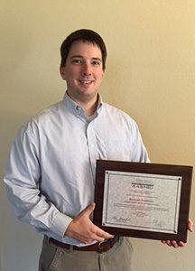 Brennan Anderson AASHTO Award