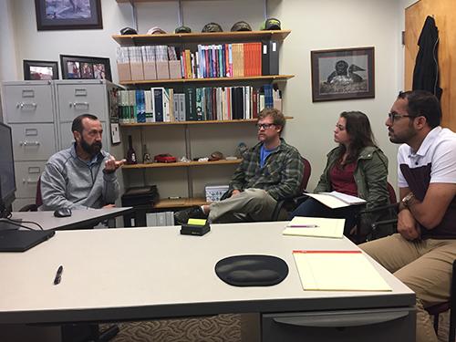 (2018) CRH Americas Materials Campus Visit and Interaction With National Collegiate Asphalt Mixture Design Team – Starkville, MS