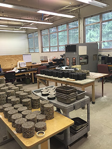 Construction Materials Research Center Lab