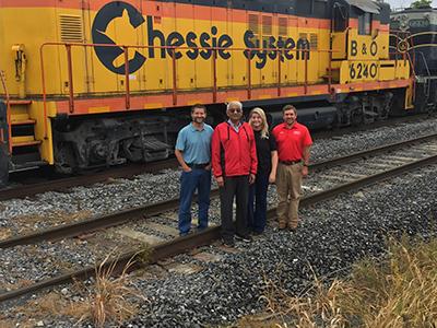 (2019) ERDC, WVU, and MSU-CMRC Composite Railroad Tie Research Collaboration – Moorefield, WV