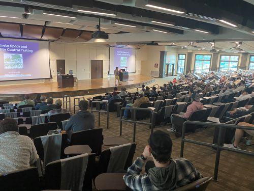 (2021) Burns Cooley Dennis, Ergon, and Mississippi Concrete Association Guest Lectures – Starkville, MS