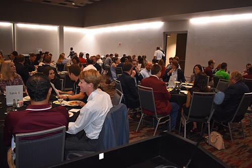 (2018) Student Mentor Dinner Sponsored by APAC, Dunn Roadbuilders, and MAPA – Starkville, MS